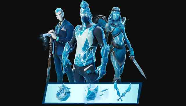 Frost Legends Fortnite Pack