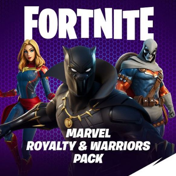Marvel Royalty & Warriors Pack
