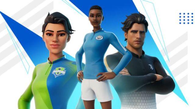 New Fortnite Soccer Skins