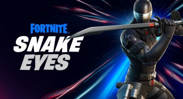 Snake Eyes in Fortnite