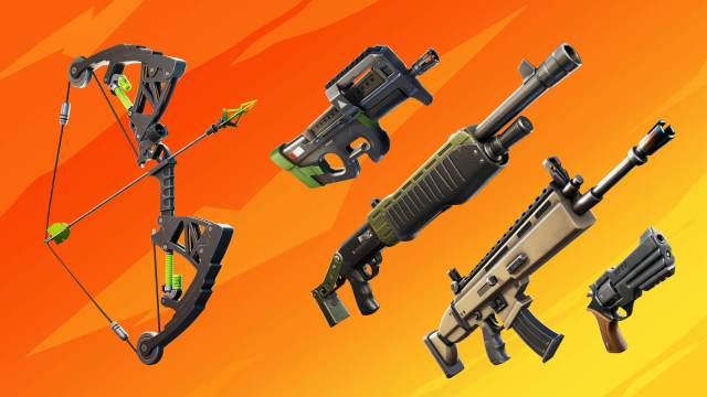 Fortnite Makeshift Weapons