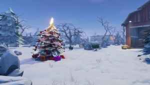 First-look at Fortnite Chapter 2's full snow map leaked | Fortnite INTEL