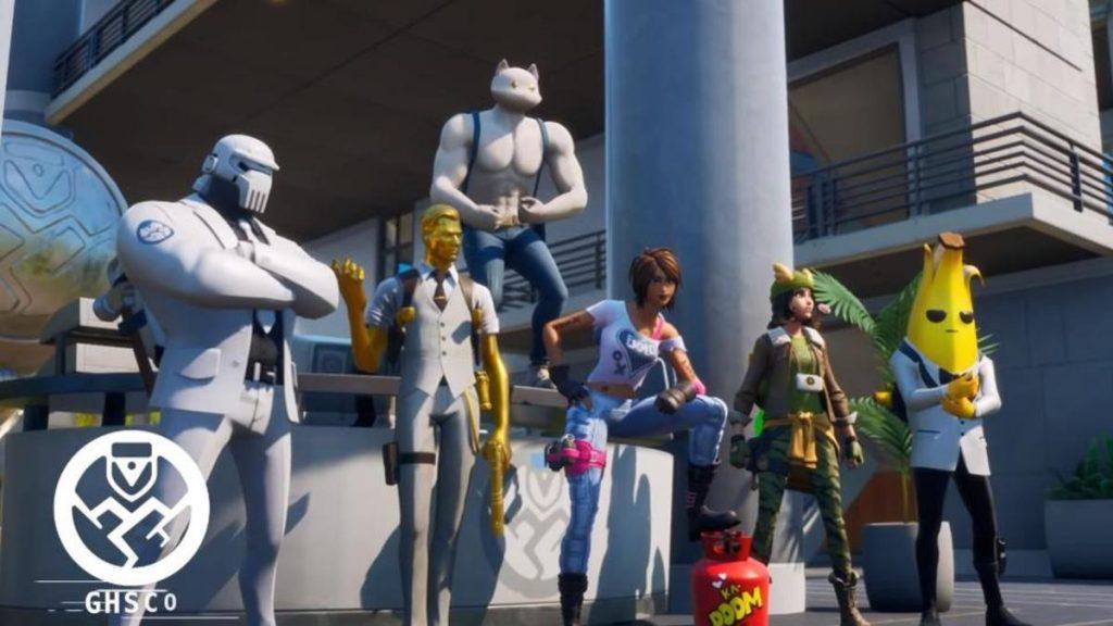Forntite characters fromSeason 2 trailer.