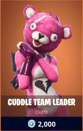 fortnite cuddle team leader outfits fortnite skins