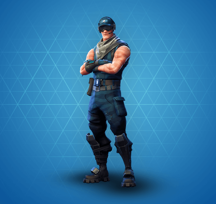 Fortnite First Strike Specialist Skin Rare Outfit Fortnite Skins