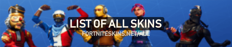 fortnite all skins