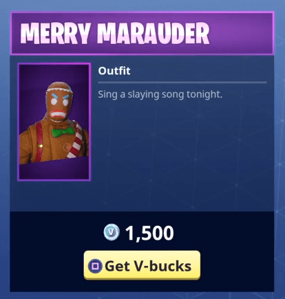 Fortnite Merry Marauder Skin Epic Outfit Fortnite Skins - merry marauder 1