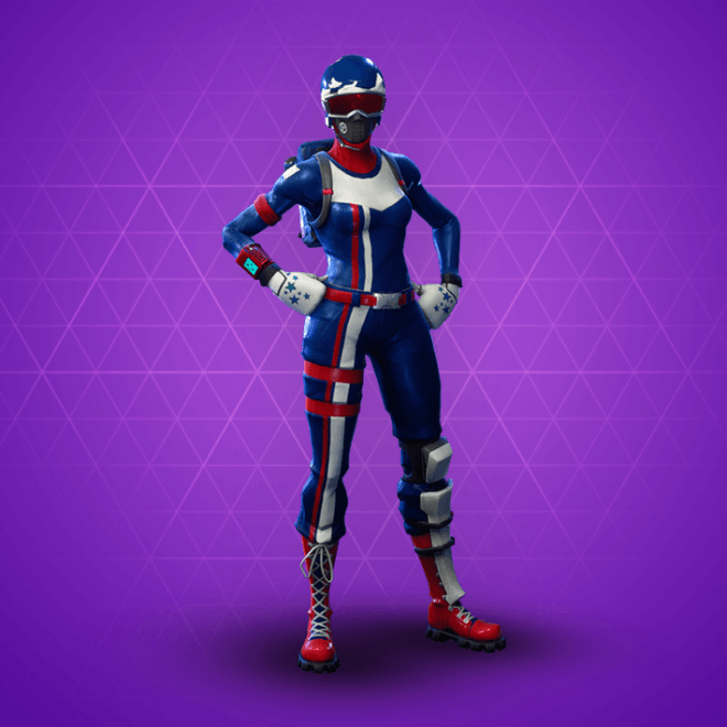 Fortnite Mogul Master (USA) Skin