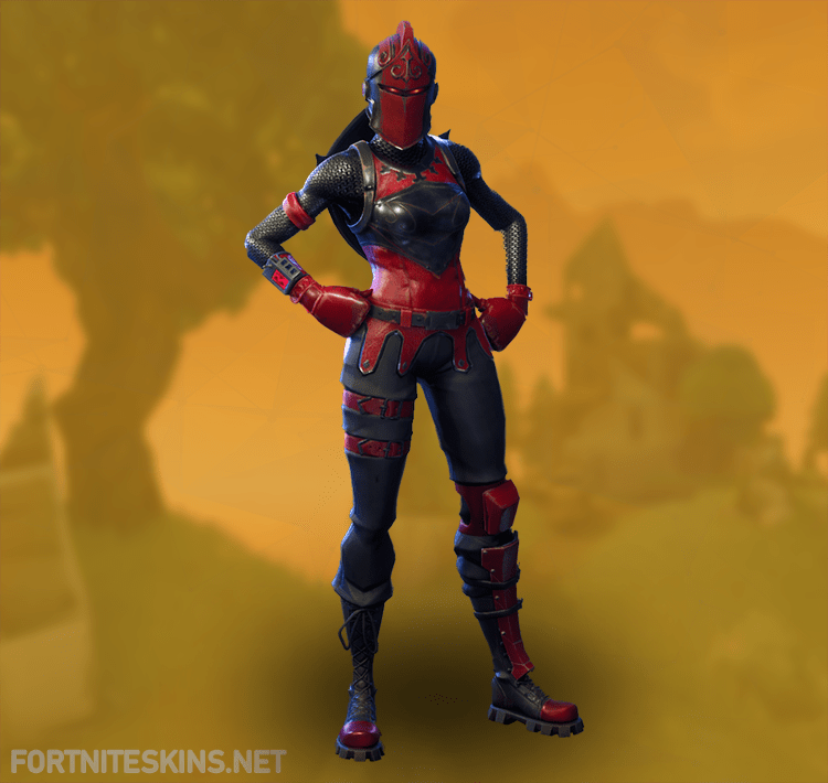 Awesome Red Knight Outfit Hd