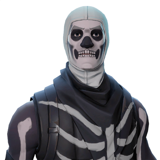 Fortnite skull trooper outfits fortnite skins for Cool life paint cost