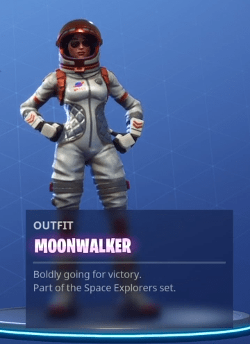 Fortnite Moonwalker Skin Epic Outfit Fortnite Skins