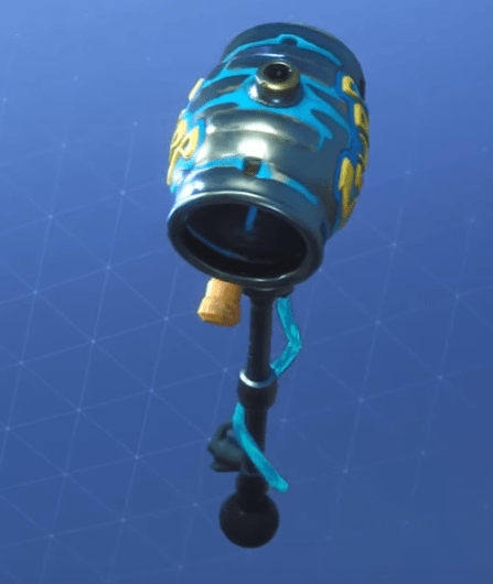 party animal skin 3 - fortnite slurp axe