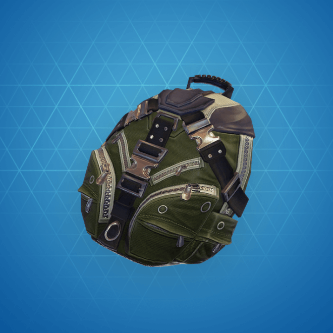 Standard Issue Back Bling