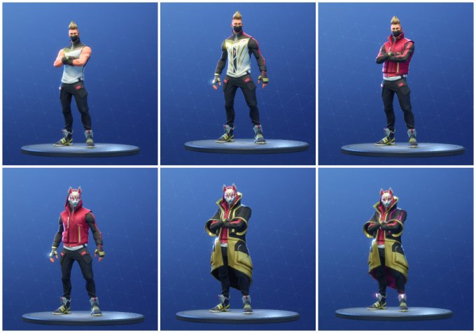 drift all unlockable styles 680x476