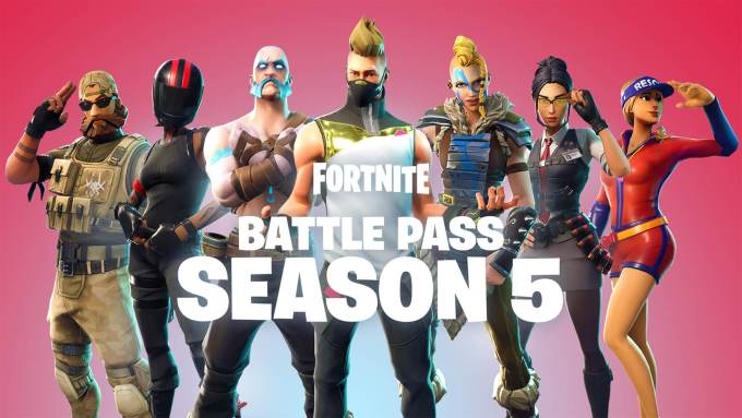 fortnite season 5 wallpaper