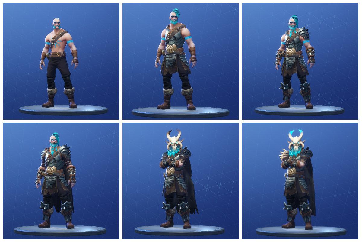 Fortnite Ragnarok Outfits Fortnite Skins