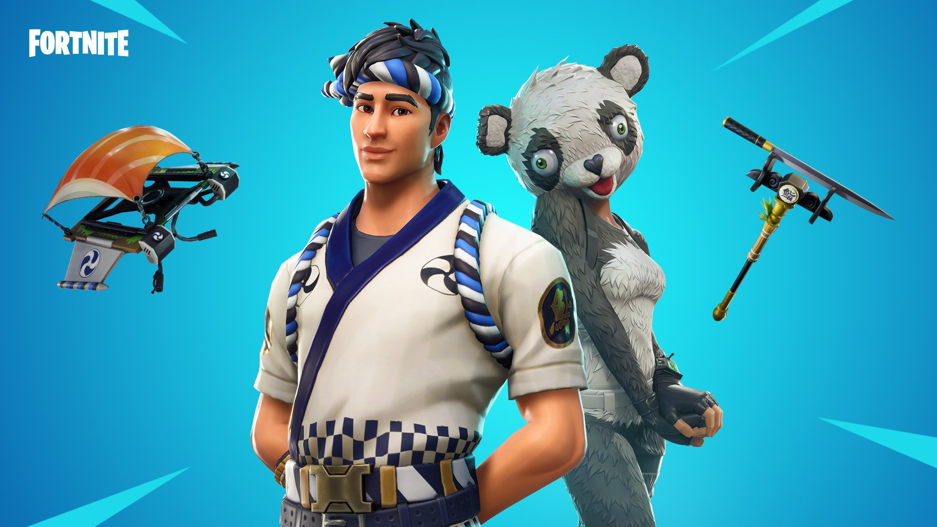 if you like to download this wallpaper please use this - fortnite chef skin