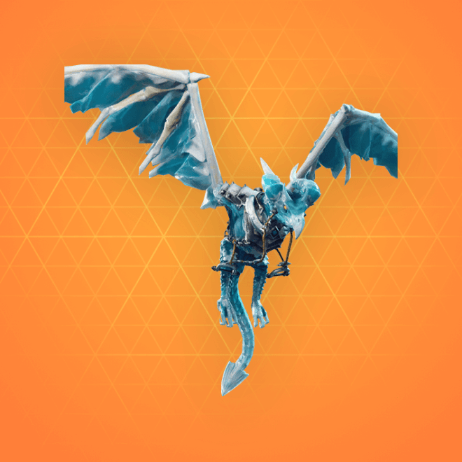 frostwing glider - dragon royale fortnite