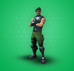 uncommon - all green skins fortnite