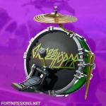 kick drum back bling