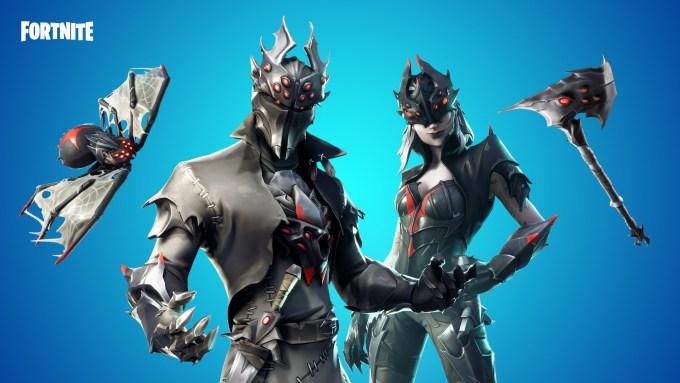 Fortnite Spider Knight Outfits Fortnite Skins