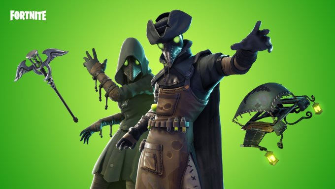 fortnite grim medicine set wallpaper