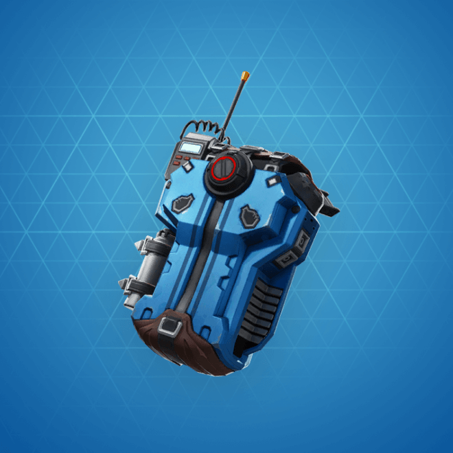 Commission Back Bling