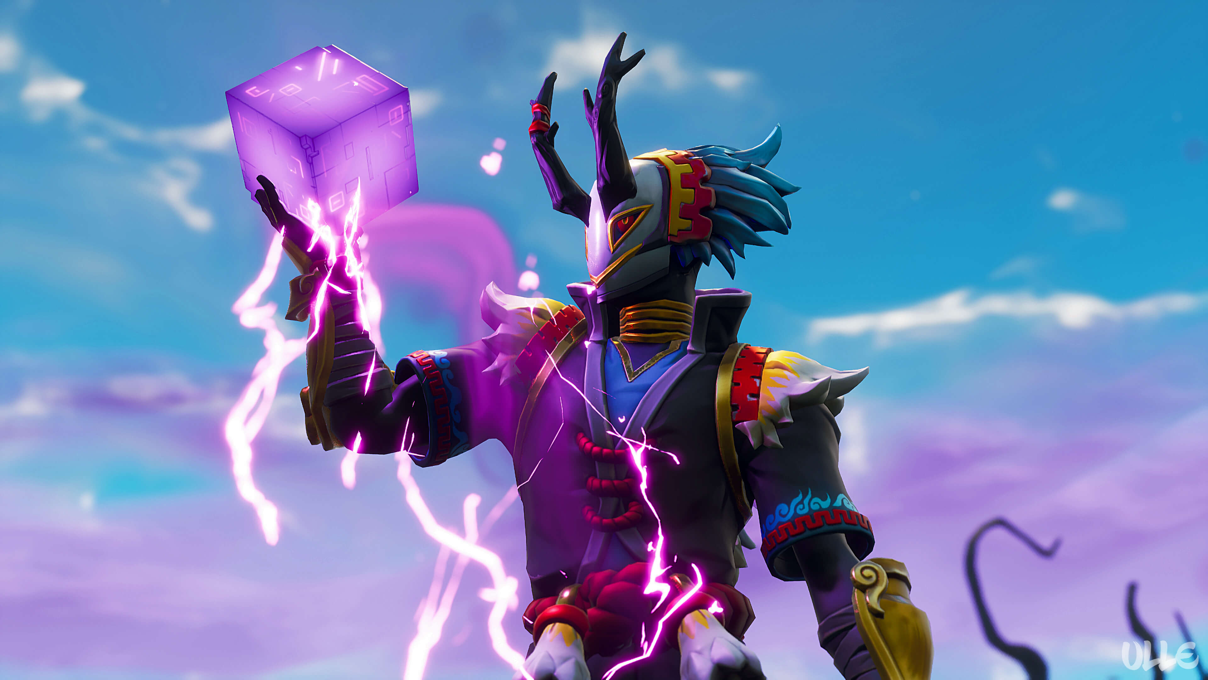 if you like to download this wallpaper please use this - fortnite taro and nara