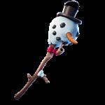 Snowy Pickaxe