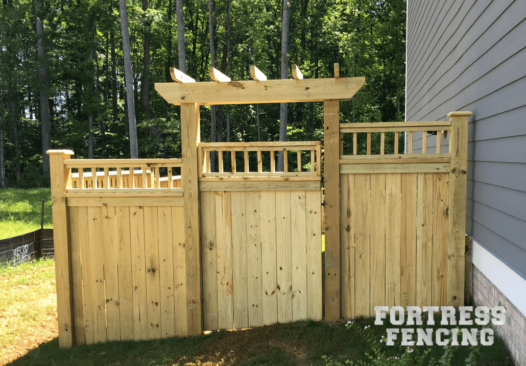Residential Arbors And Pergolas Fortress Fencing
