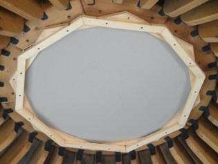 Insulated dome shade unit