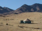 New Mexico yurt