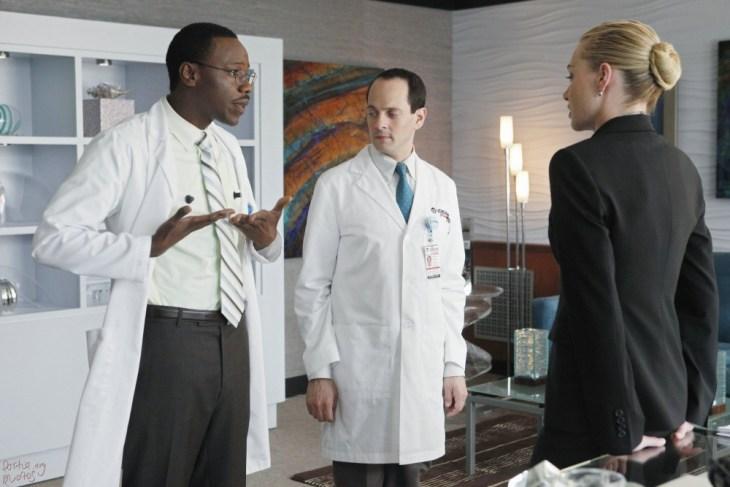 ...der beiden Laborratten Lem (Malcolm Barret) und Phil (Jonathan Slavin). Foto: ABC