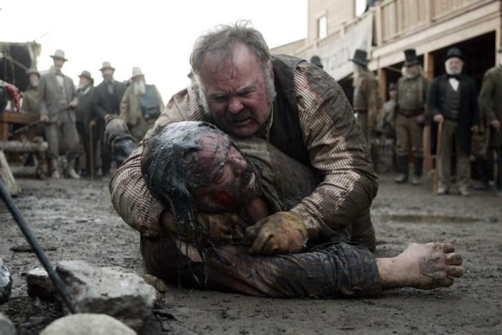 Es ist dreckig in Deadwood. Beweisführung abgeschlossen. Foto: HBO
