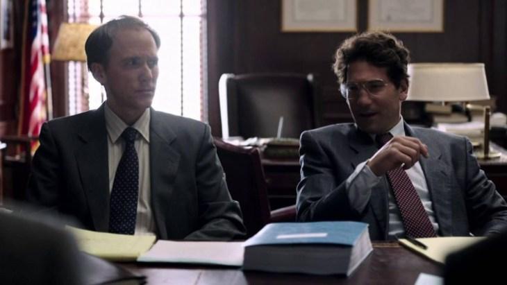 Ist Anwalt Sussman (rechts, Jon Bernthal) der Held? Foto: HBO