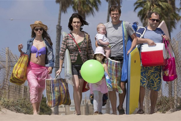 "Mitten im Leben: Familienausflug in ""Togetherness""; Foto: HBO"