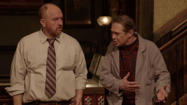 "Louis C.K. und Steve Buscemi sind ""Horace and Pete"" © The New Yorker"