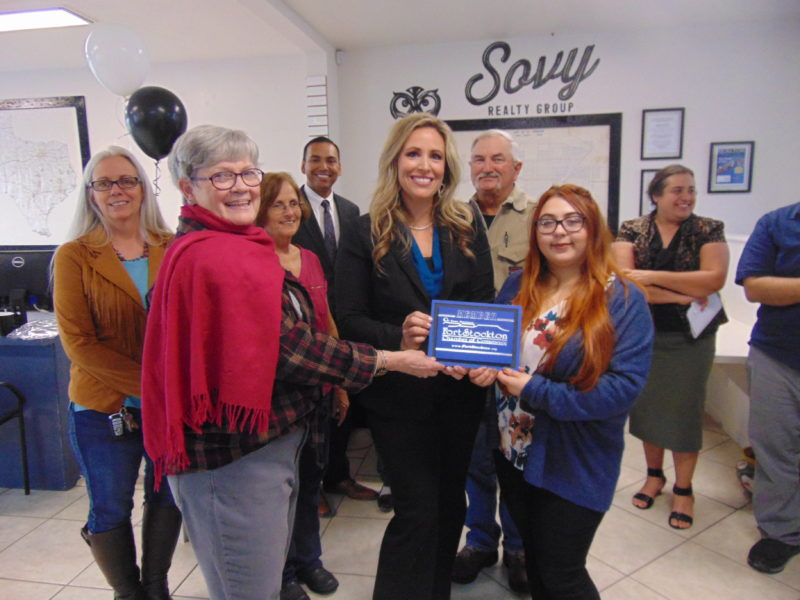 Ribbon Cutting for Sovy Realty