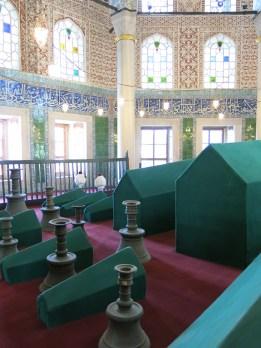 Sultan's Tombs at Hagia Sophia