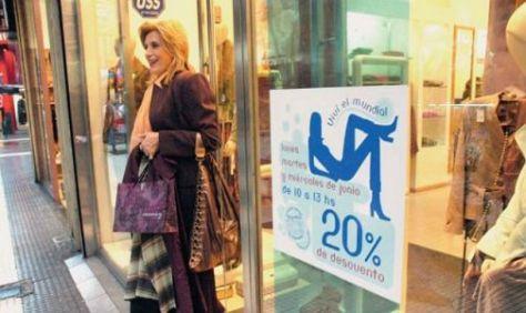 DIA DE LA MADRE. Las ventas se incrementaron.