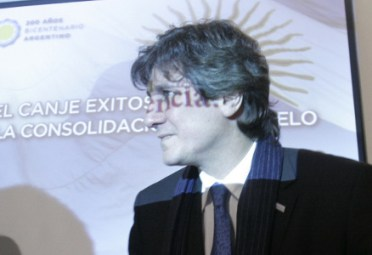 AMADO BOUDOU. Ministro de Economía.