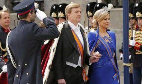 FLAMANTES MONARCAS. Cuánto le costó a Holanda la ceremonia. (Foto AP).