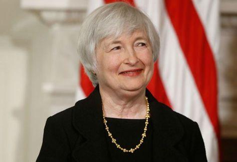 YANET YELLEN. Presidenta de la FED.