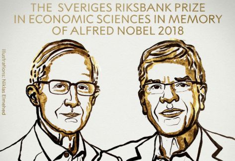 William D. Nordhaus y Paul M. Romer ganan el Premio Nobel de Economía