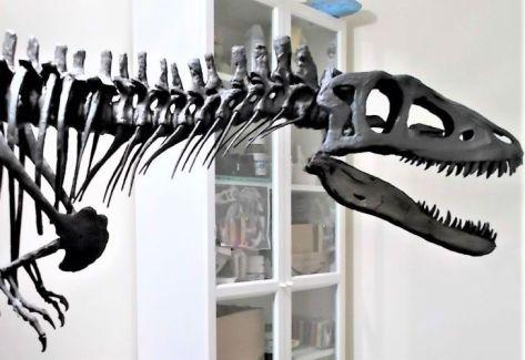 Ponen a la venta fósil de dinosaurio