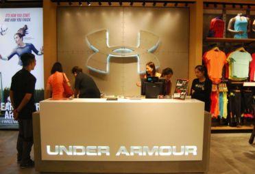 Under Armour abrió su primer local en Argentina