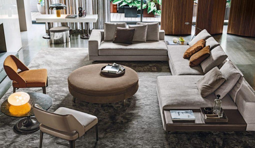 Каталог итальянской мебели Minotti 2019