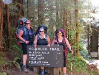 Backpacking the Olympic Peninsula