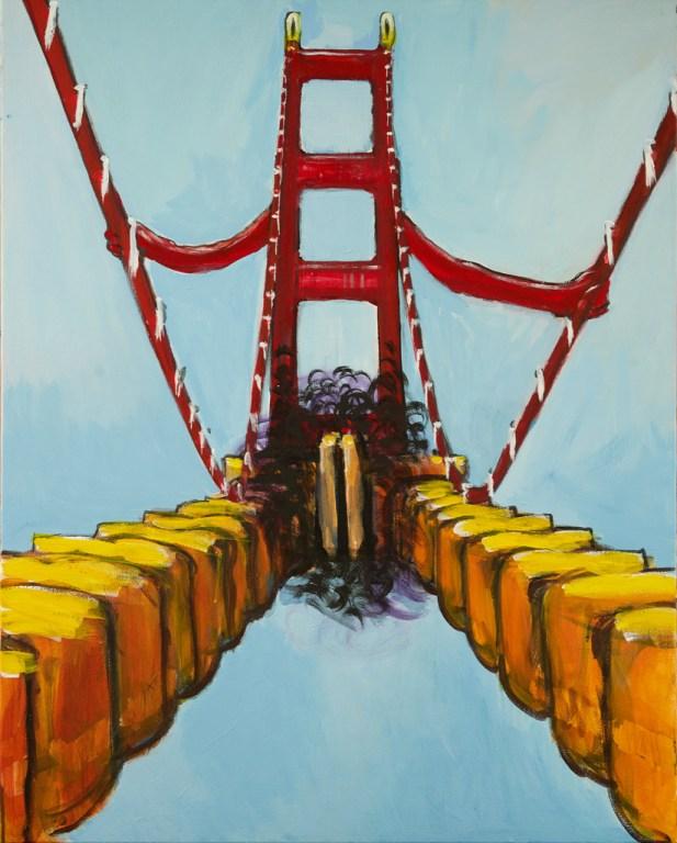 Golden Gate Zipper Corp 117x94cm