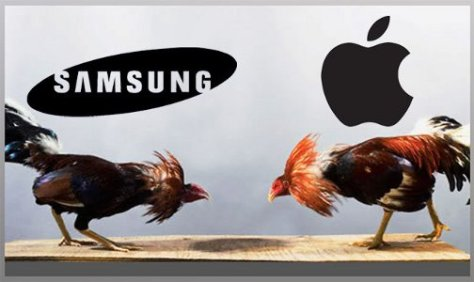 RIÑA. Samsung contra Apple.